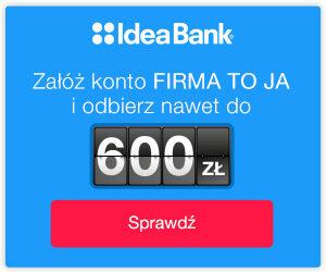 KONTO FIRMOWE IDEA BANK
