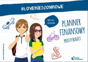 planer finansowy dla nastolatka