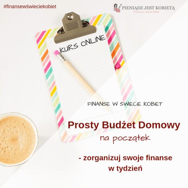 Kurs Prosty Budżet Domowy na początek