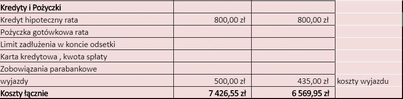 budżet domowy 2019