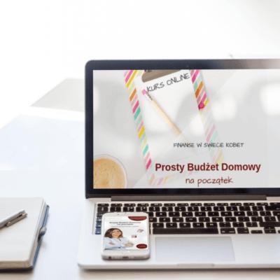 Kurs online plus ebook Prosty Budżet Domowy