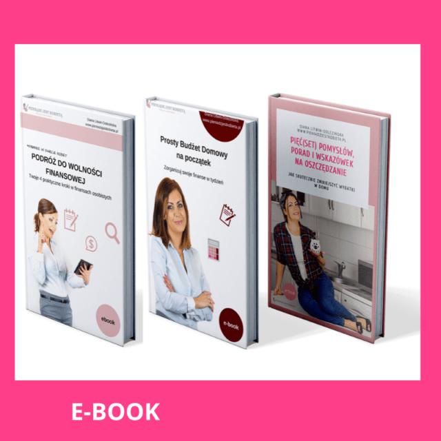 Pakiet 3 e-booków